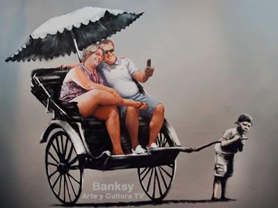 Banksy - montado en tu lomo
