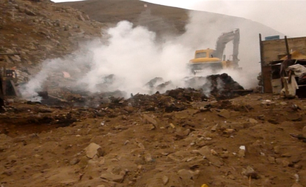 destruyen Huaca PARAISO