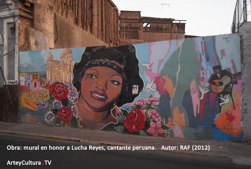 Lucha Reyes en Arte y Cultura TV page